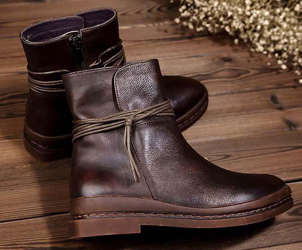 Mit Box Sneaker Freizeitschuhe Sneaker Fashion Sportschuhe der Qualitäts-Lederstiefel Pantoffel-Weinlese-Air für Frau 04 PH225