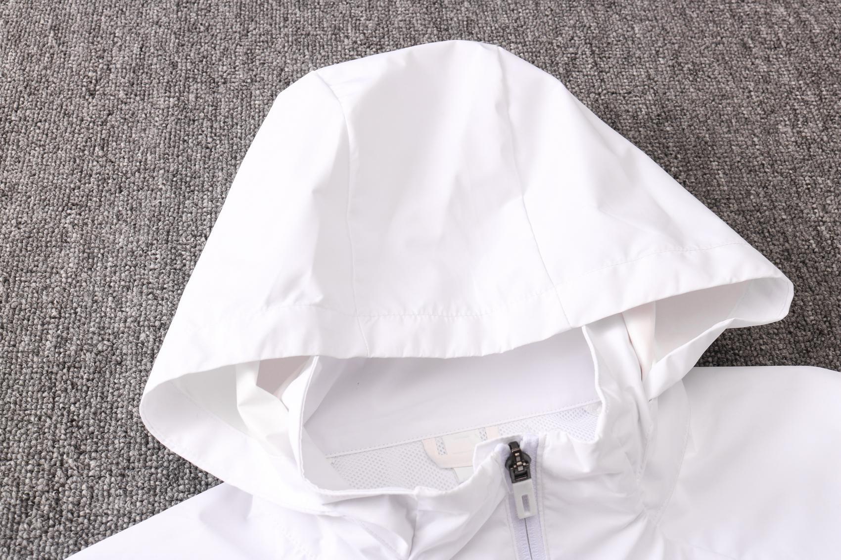 2020 2021 Man birleşik rüzgarlık Pogba uzun kollu ceket 20 21 kapüşonlu eşofman futbol Toz kat Rashford futbol rüzgar ceketi kapüşonlu