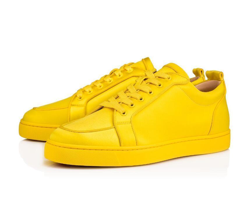 Venta caliente de la primavera-verano / Rojo Calzado Sole junior Rantulow zapatillas de deporte de las mujeres planas de los hombres que andan en monopatín rojo inferior diseñador zapatos que caminan calzado CS02