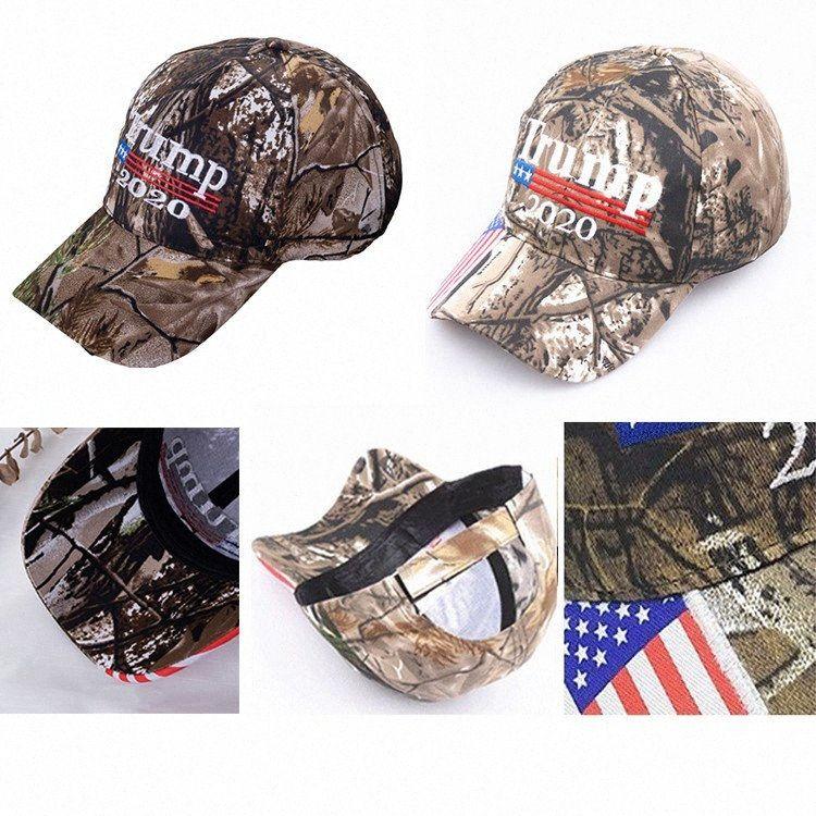 Kamuflaj Donald Trump Şapka Makyaj Amerika Büyük MAGA ABD Bayrağı 3D Nakış Harf Snapback Kamuflaj Erkek Beyzbol şapkası İçin Kadınlar DHD24 GxqR # Caps