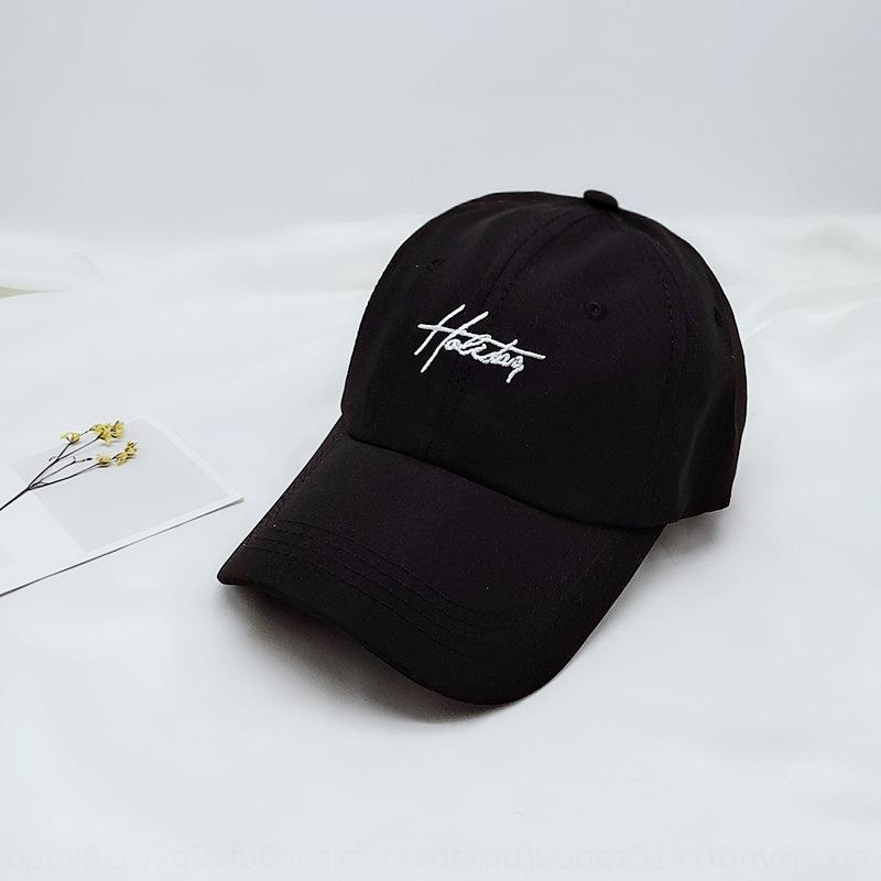 вышитые Корейский стиль шляпа Остроконечные Macaron Бейсболка Зонт высокой 2020 новый праздник достиг своего пика Baseball качества крышки J5PZO
