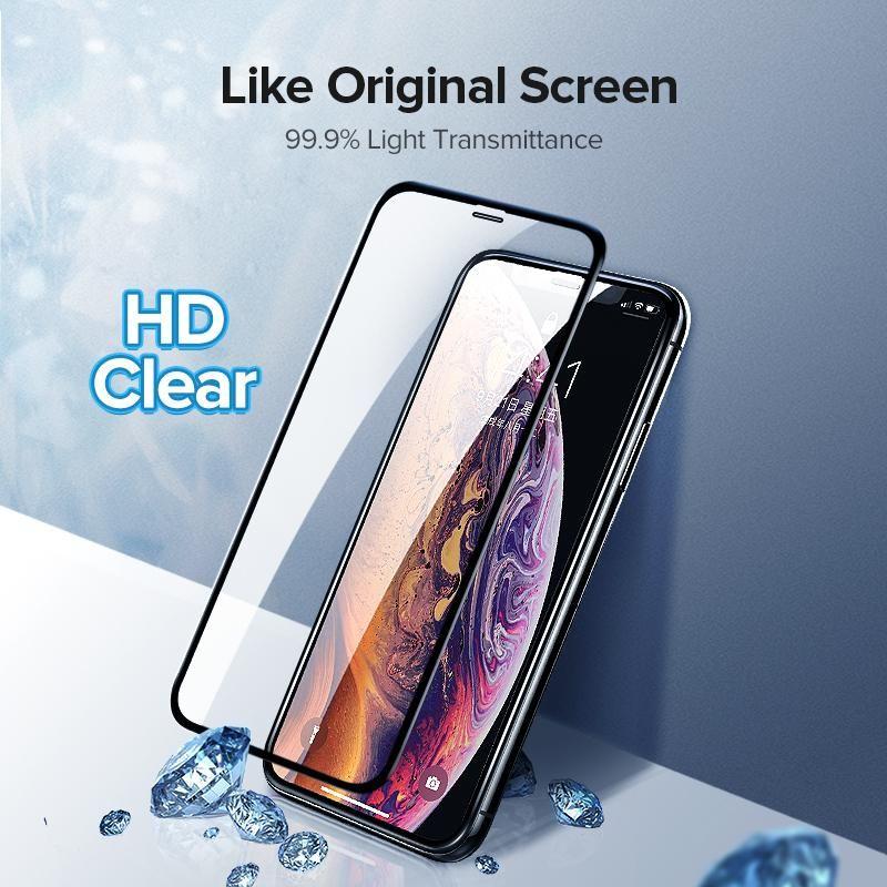 Anti-impermeável para Ip 11 Pro Tela X Xr Xs Max protetor de vidro para IP6 6s 7 8 Plus vidro temperado Film