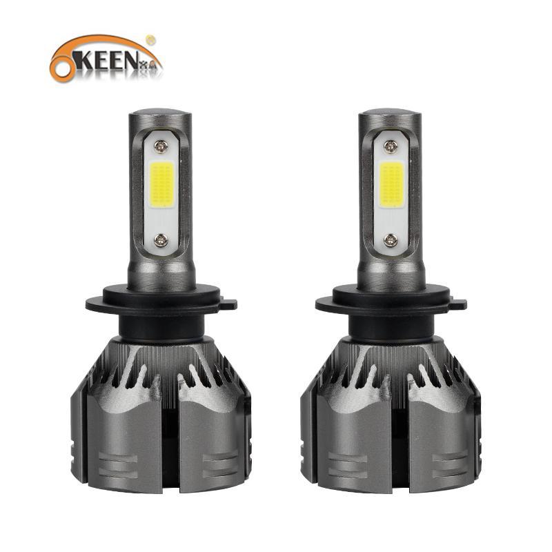 OKEEN Car Light H1 LED H7 H11 Fog Light 9006 9005 H4 High Low Beam 6000K 12V Led Automotive Headlights Waterproof Car Headlamp