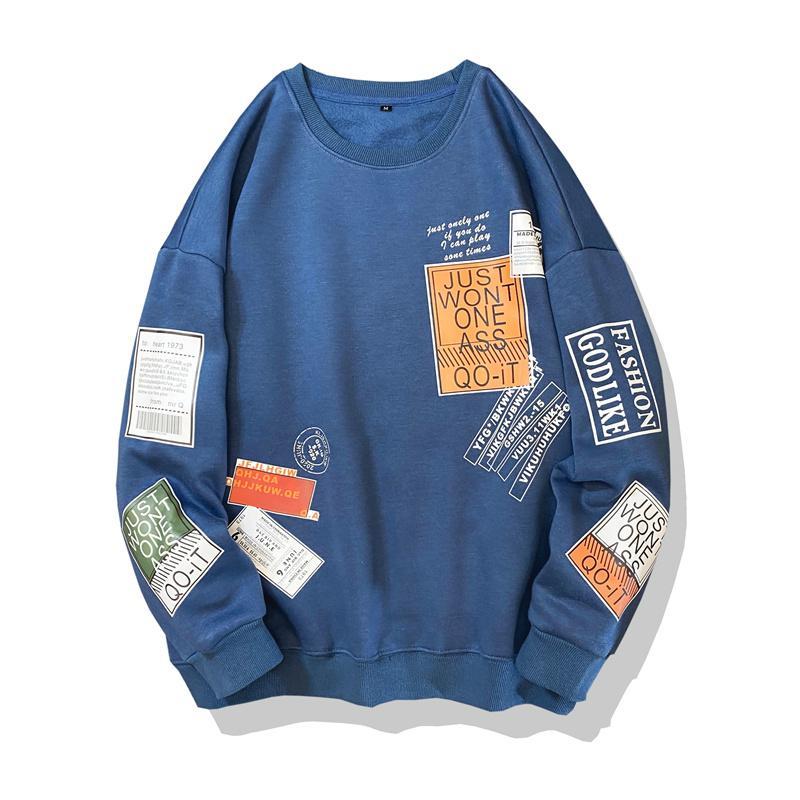 Mode Marke Hoodies 2020 Frühling Herbst Hip Hop Lose Casual Herren Sweatshirts Punk Streetwear Kleidung KG-109