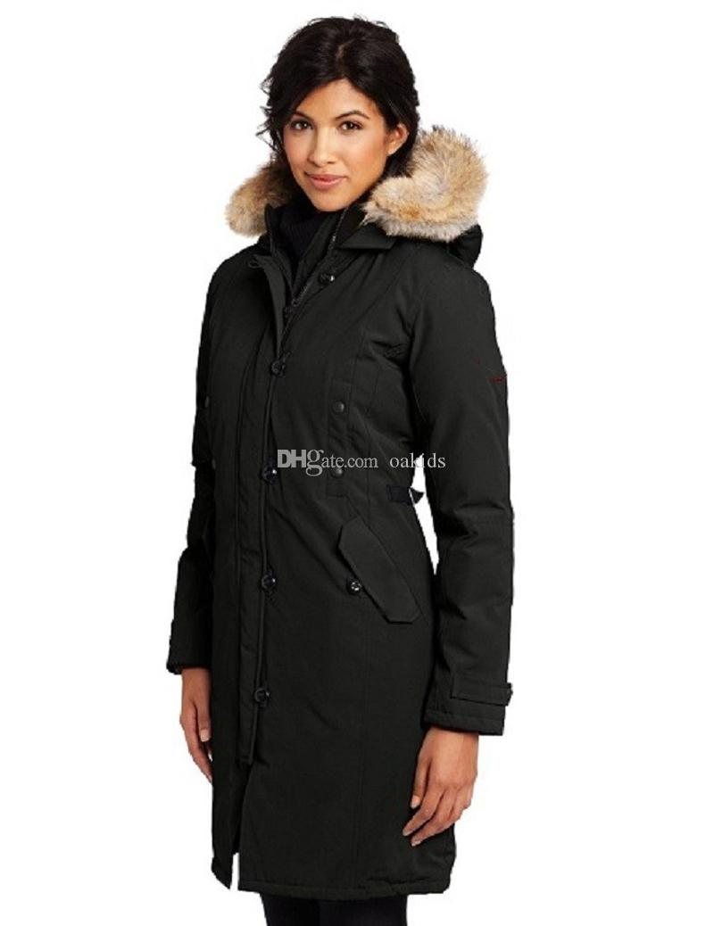 2020 New Designer mulheres para baixo casaco longo de Down Coats mulheres exteriores revestimento morno Feather Goose Inverno Casacos Silm Casacos Parkas