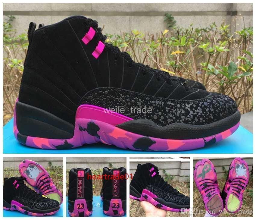 12 Doernbecher Xii New Db Homens tênis de basquete baratos Athletic Shoes Mens Sapatilhas Homem 12s Trainers Basket Ball Sports 8-13