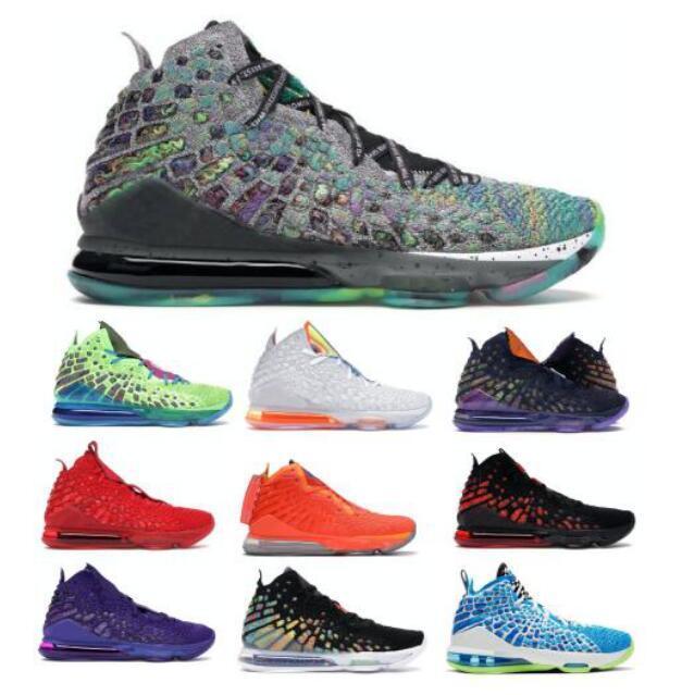 Promessa 17 17s i Tênis de basquete para Mens Sneakers Red Carpet futuros 2k Sprite Monstars infravermelhos Harlem Moda Row Grey Formadores Shoes