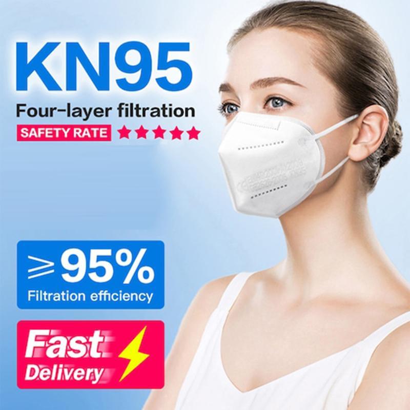 DHL Бесплатная Доставка 95% PM2.5 Фильтрация KN95 Маска PM2,5 Защитные KN95 Маски для лица KN95 Многоразовые Антиспирание Маски для лица Мойка