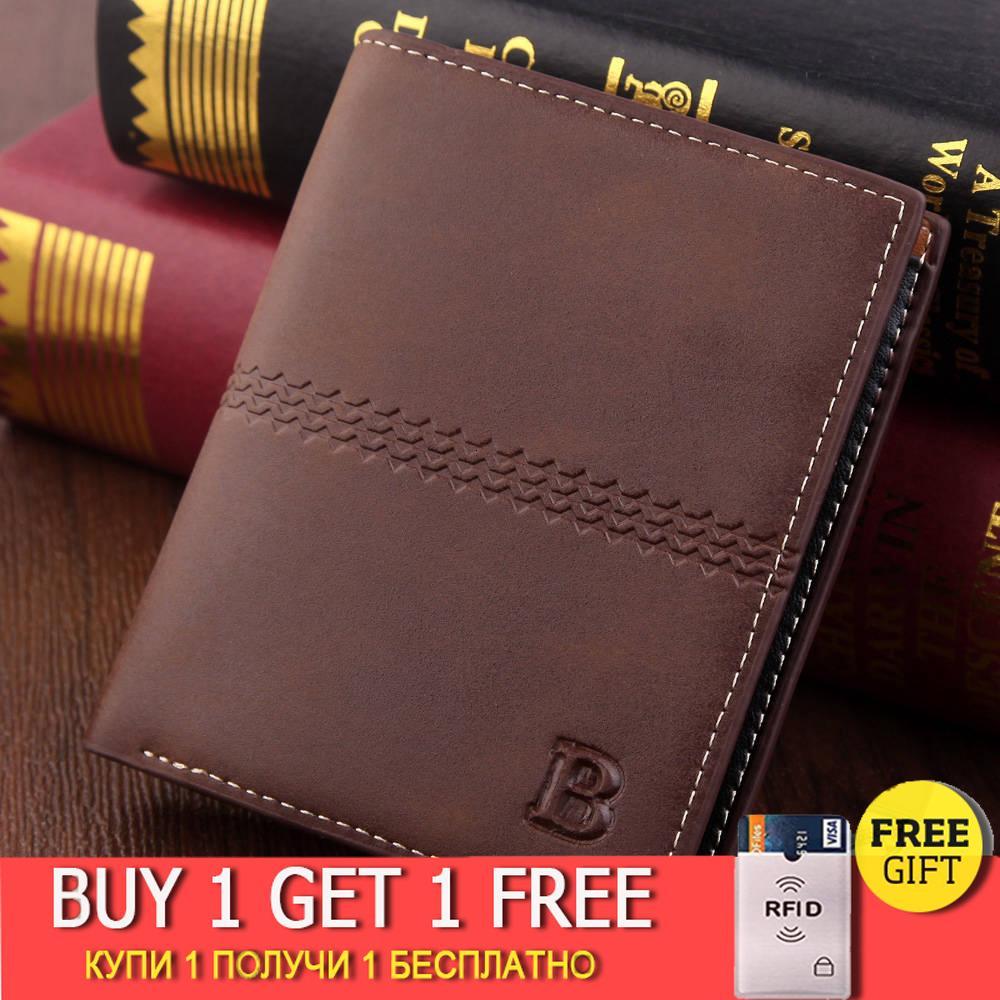erkek cüzdan Vintage kahverengi Doları Kısa İnce carteira masculina erkek CUZDAN billetera hombre Hayır Fermuar cüzdan erkekler B çanta
