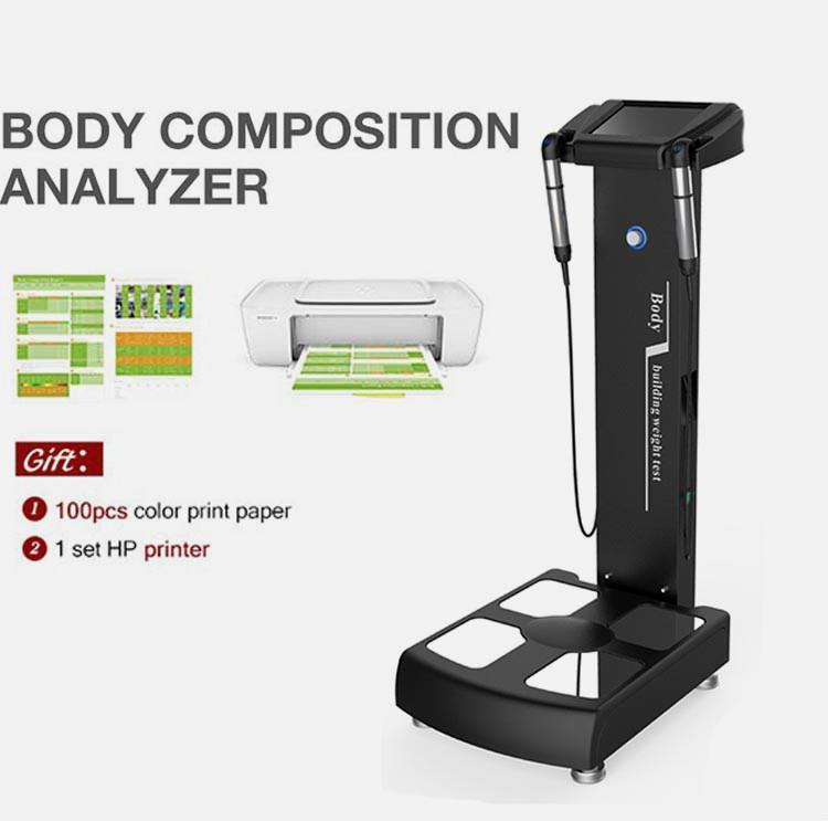 Manual buena calidad de salón Uso Estética grasa prueba física de análisis y ensayos de seguridad Elementos de belleza Peso Cuidado Reducir composición corporal Analizador
