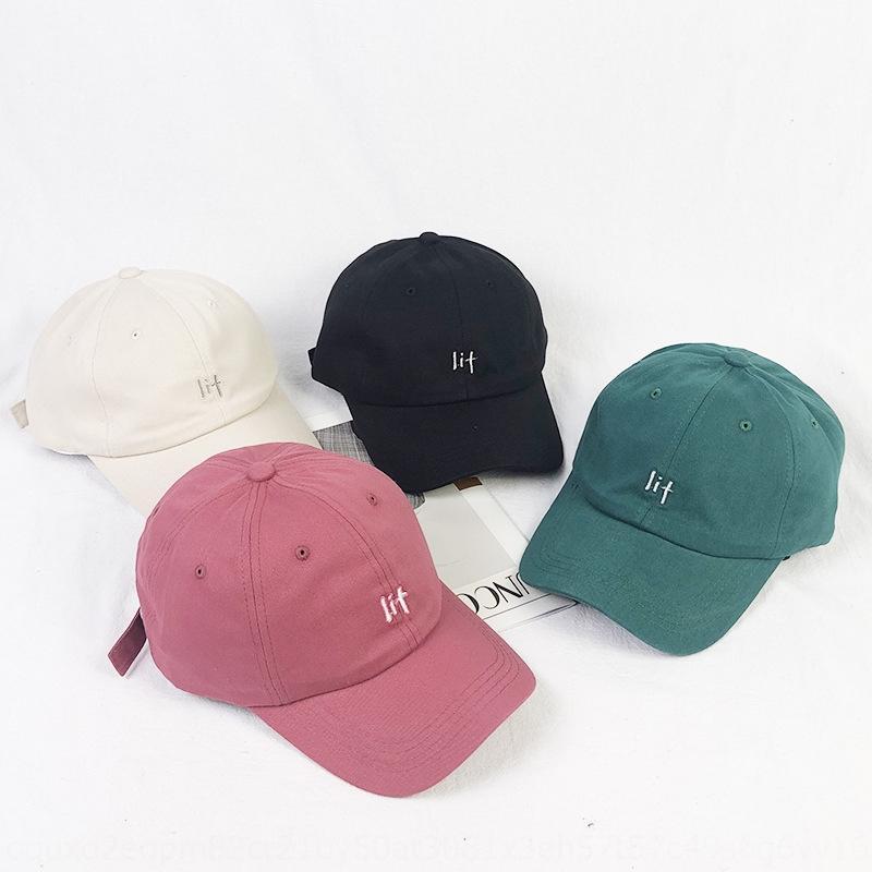 ins şapka kadın yaz Kore tarzı moda Sivri beyzbol İngilizce işlemeli beyzbol şapkası kadın spor güneş şapkası yüz gösteren küçük