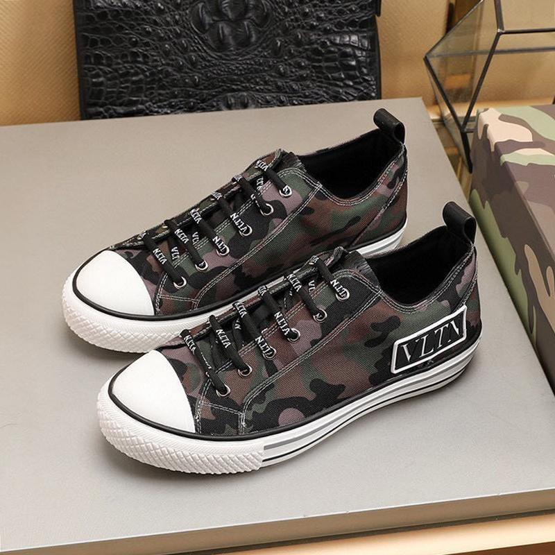 Alta Qualidade Men sapatos de luxo Estilo Designer sapatos confortáveis Shaspet Vintage Sneakers Low Top Lace -Up Sports Sapatos Masculinos Zapatillas Hombre