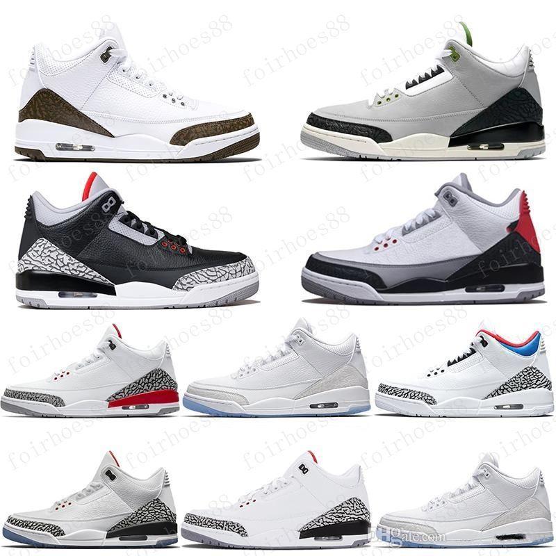 Mens Jumpman 3 Basketball Shoes 3s