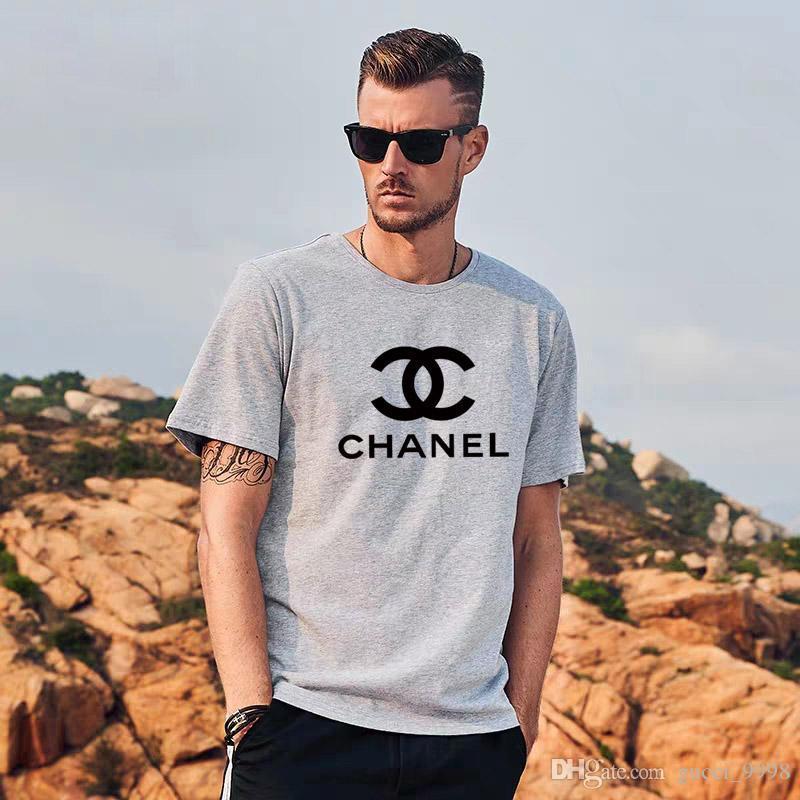 2020 Yüksek Kalite baskı Yeni T shirt Yaz Moda beyaz t shirt Erkekler Ve Kadınlar Pamuk Tişörtlü Yaz Tee