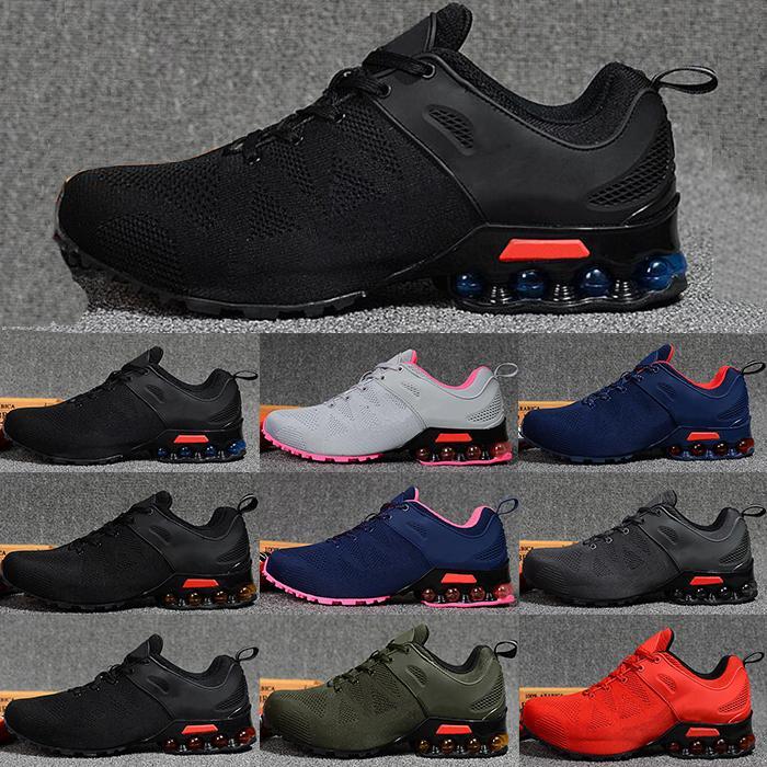 2020 Nueva Aire Ultra costura de punto los deportes de los hombres de los zapatos corrientes de luz polvo gris oscuro polvo azul las zapatillas para correr ocasional de las mujeres