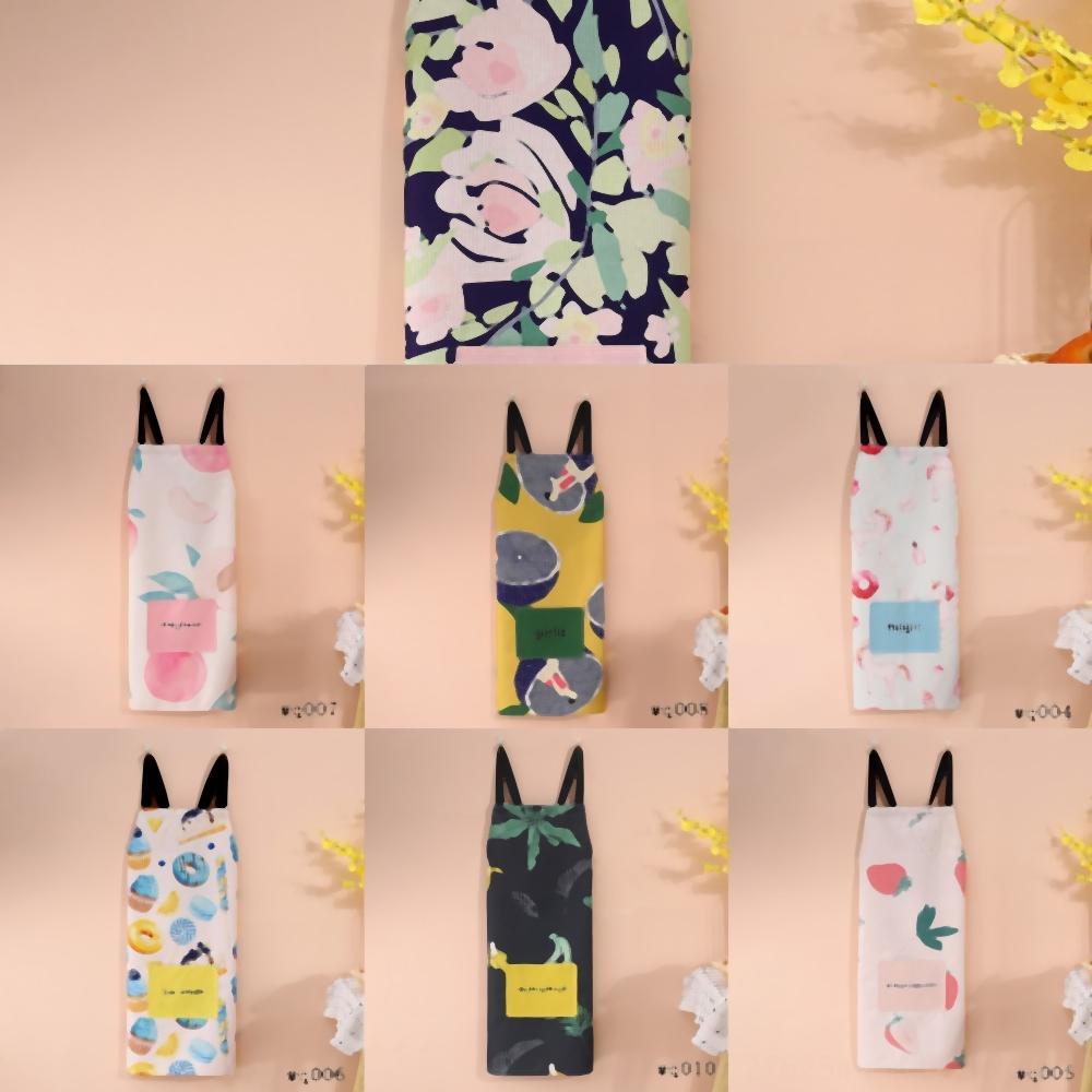 ExEHQ Und Kleid Heimwasserdichte Schürze Küche Japanische Art-einfache Art und Weise Lattice Druck sleeveless kleines frisch Home Küchenreinigung Brea