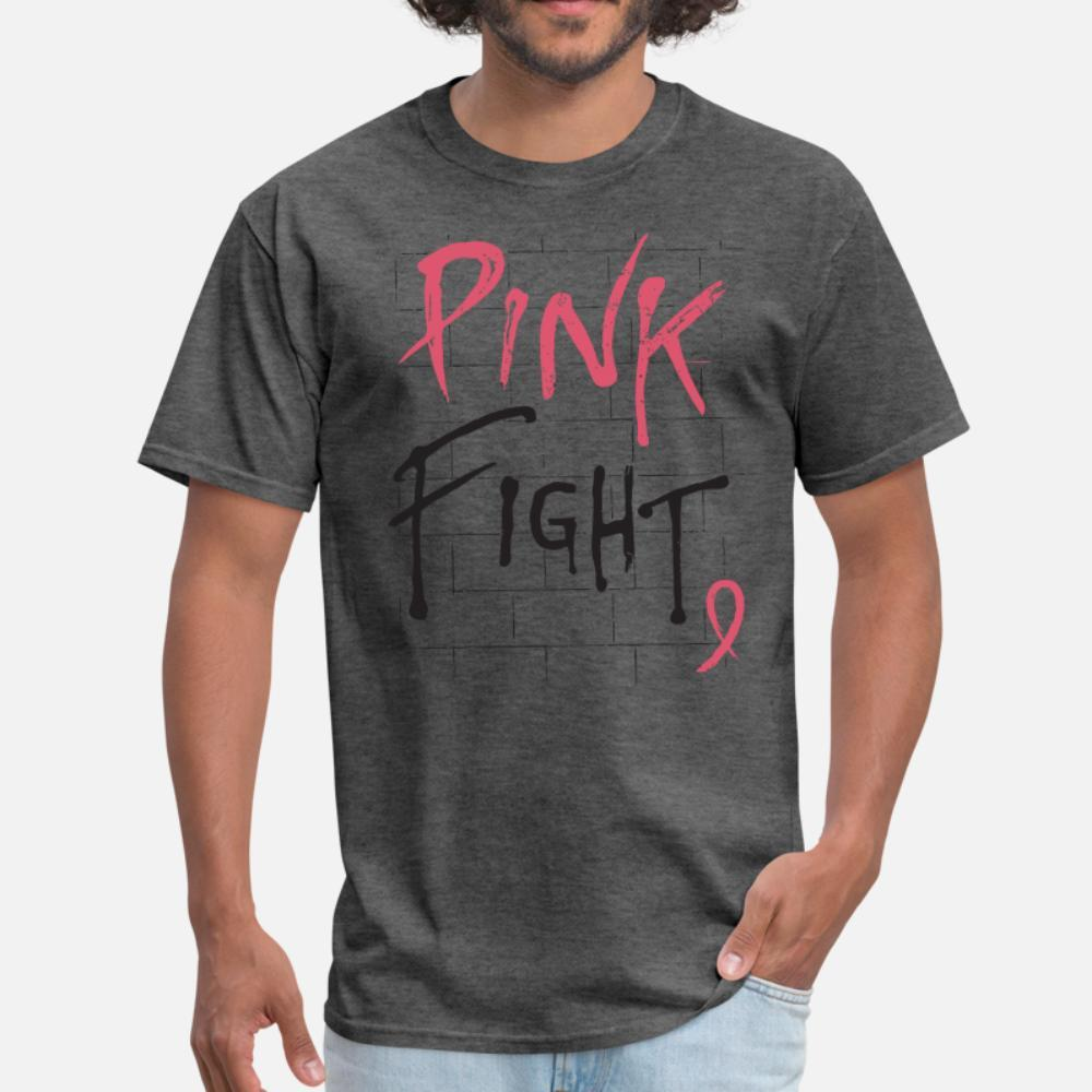 Da mama Consciência do cancro da mama Luta do cancro R t shirt homens personalizado 100% algodão plus size 3xl Unisex bonito New Fashion Spring Leisure