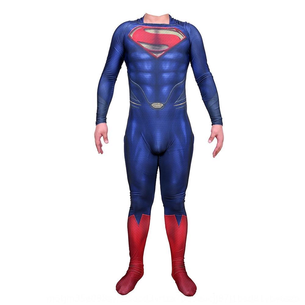 InC3Z dKQwQ Superman héroe pantalones tightsclothing Cosplay medias Superman pantalones ajustados apretado héroe súper tightsclothing de una sola pieza thesuper