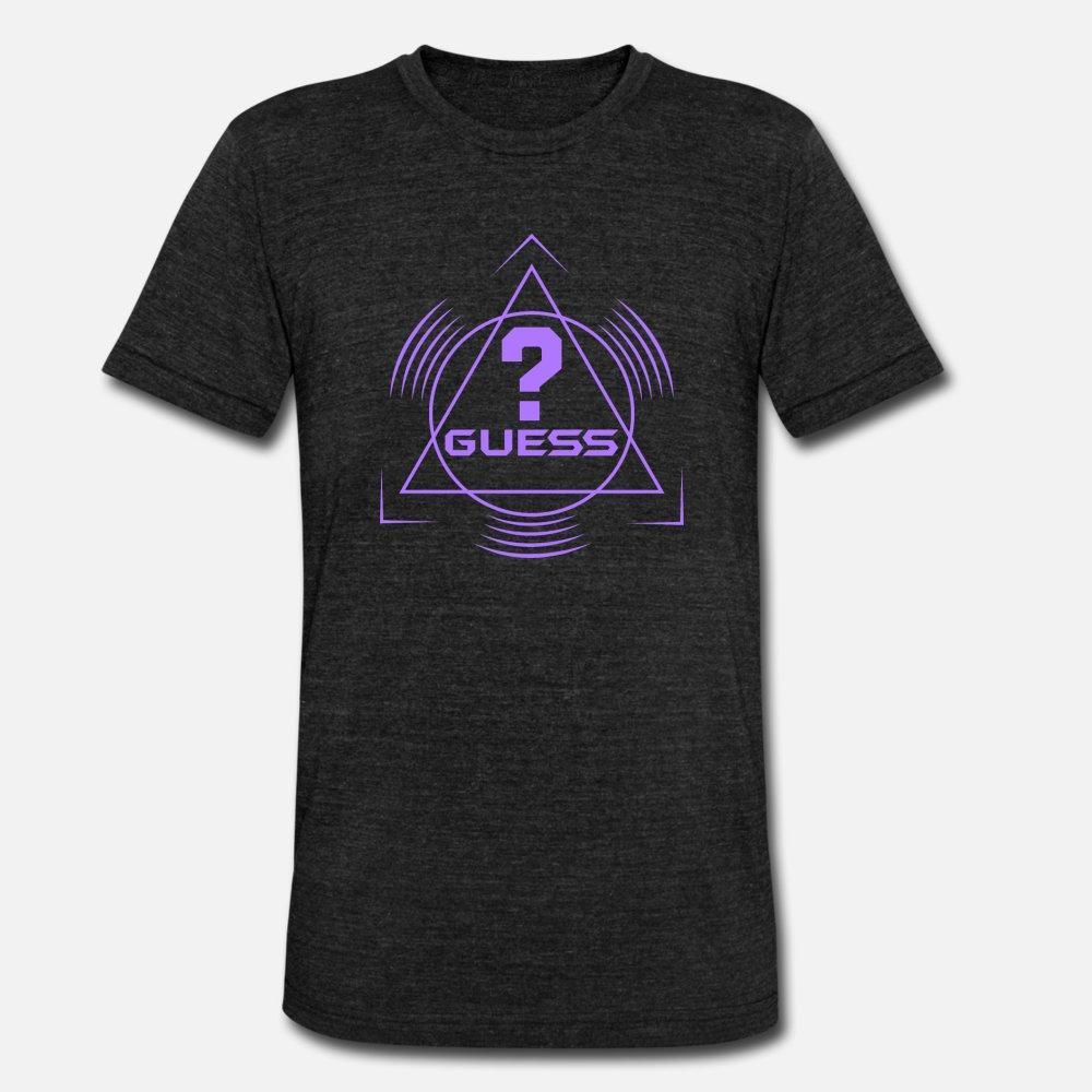 Guess camiseta de los hombres Fit 100% algodón tamaño S-3XL Apto Apto Humor Natural Spring otoño