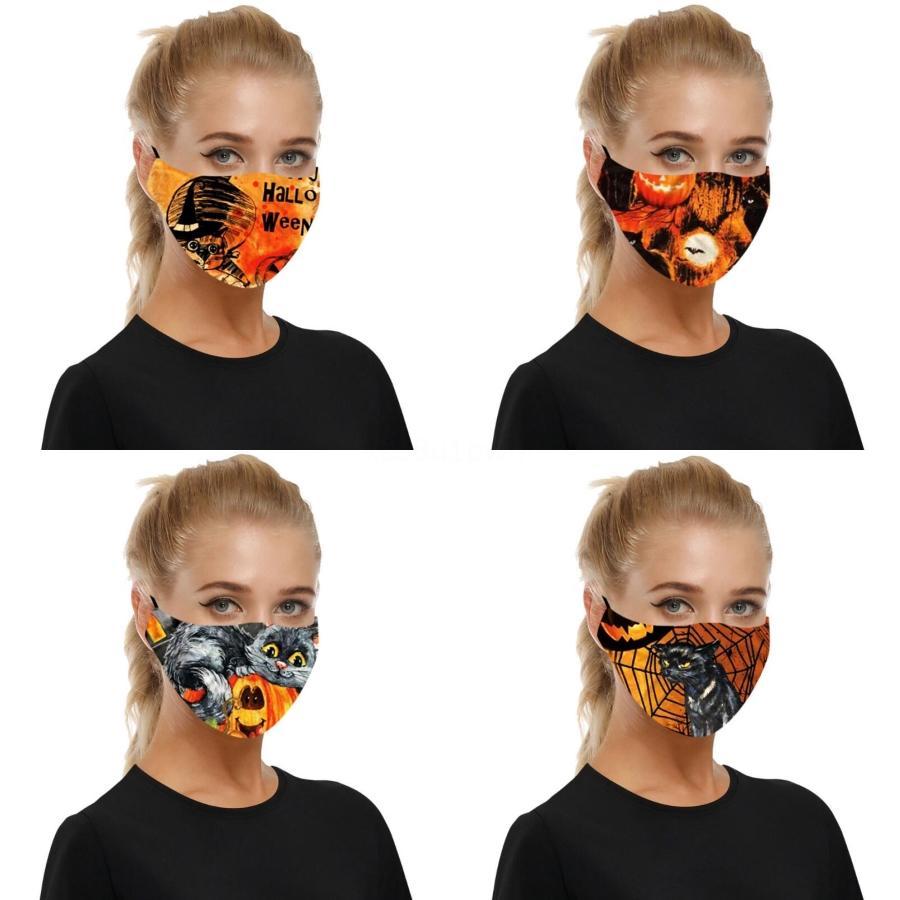 Kinder Erwachsene Universal-Gesichtsmaske Mode Flag 3D Druckmaske staubdichte waschbare wiederverwendbare Adjustable Gesichtsmaske mit 2 Stück PM2.5 Filte # 957