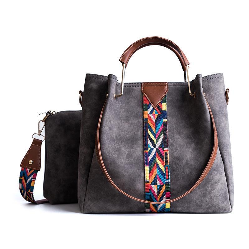 SAC наборы модные сумки сумка мессенджера кожа красочные руки swqop большие плечо женщины pu crossbody сумки сумки мешки ремни главные женщины jjion