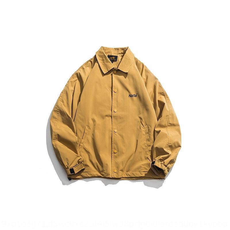gUTUv couple de 2019 automne nouvelle veste nationale d'outillage entraîneur cravate simple boutonnage nationale veste Xinchen mode