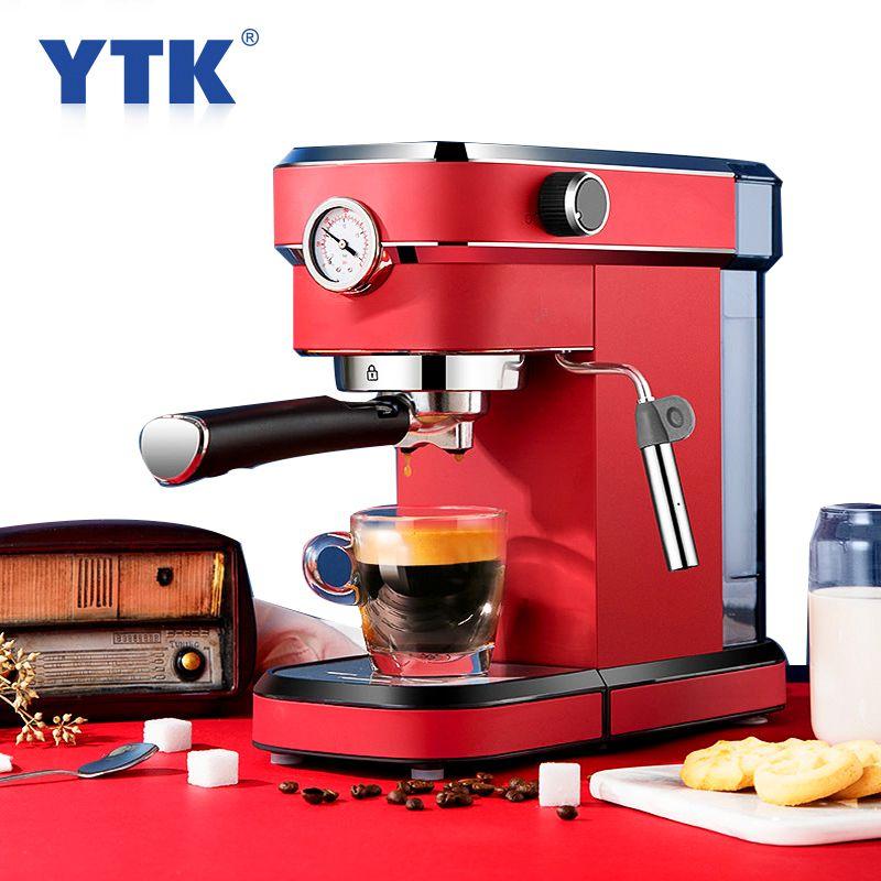 Máquina de café expresso Milk Frother Máquina Integrado 5bar Pump System 850W Café Leite Frother 220-240V 50HZ