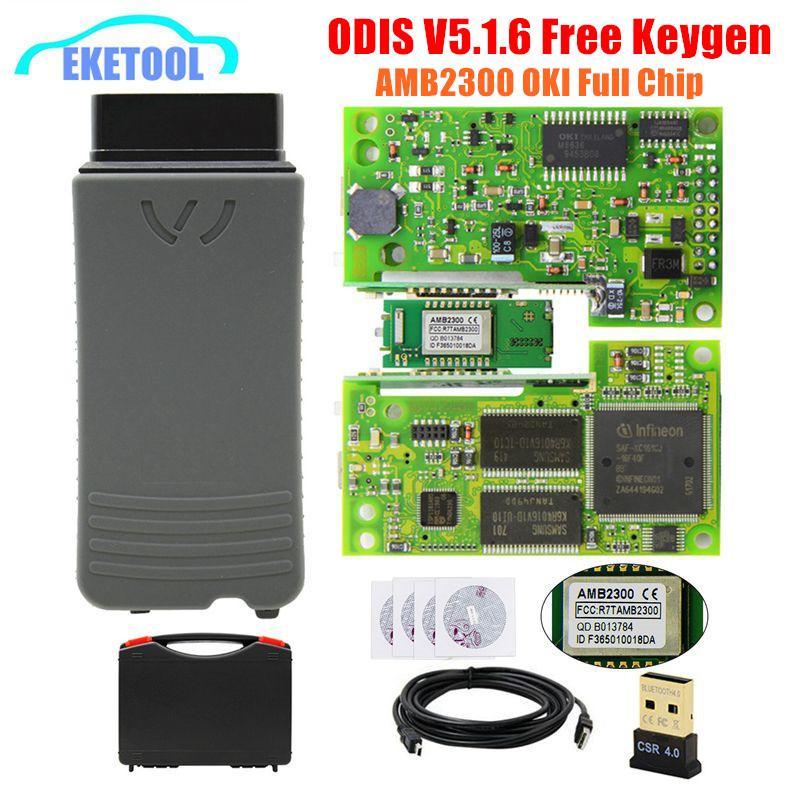 VAS5054A OKI AMB2300 ODIS V5.1.6 completa Chip 5054a per VAG Serie Multi lingua 5054 Supporti UDS Protocolli 6154 5.1.5