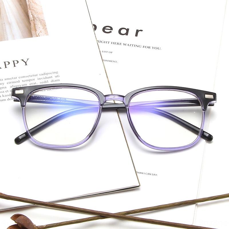 qUM0T moda classica M unghie pianura moda quadrati occhiali personali degli uomini fotogramma per fotogramma via le riprese occhiali tutto-fiammifero