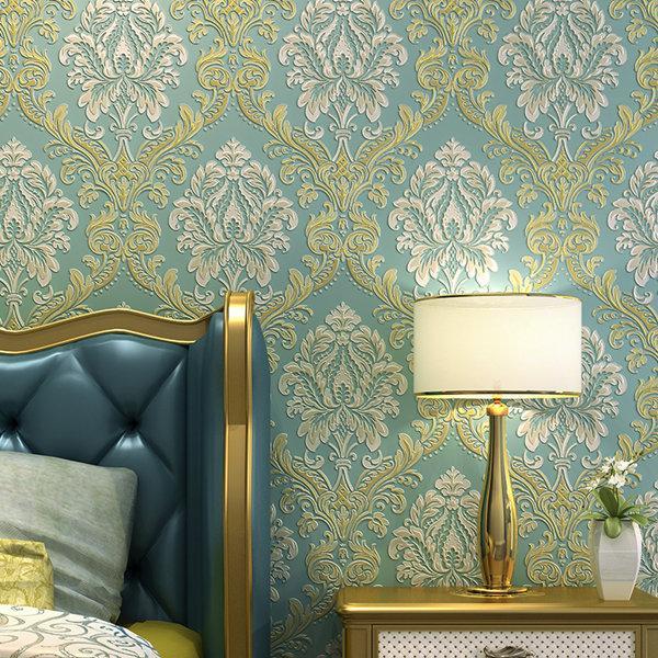 Minimalist Style Duvar Kağıdı Çizgili Katı Renk Dokuma Duvar Kağıdı Salon Tv Koltuk Arkaplan Wallcovering