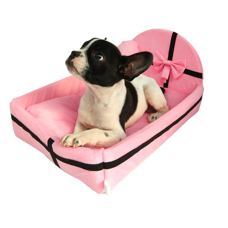 Pet divano-letto gatto del cane di annidamento Materasso cucciolo Warm Kennel Dormire Cuscino HYD88