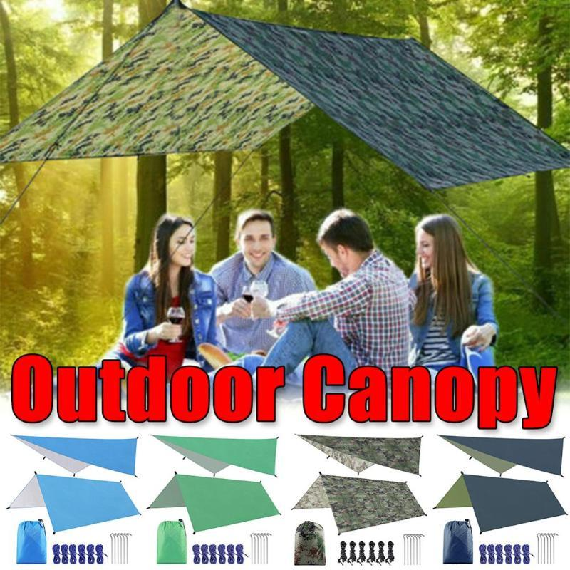 Shelter 3mx3m Toldo Tarp Waterproof Tent Sombra Ultraleve Garden Canopy Sunshade Outdoor Camping Hammock Chuva Beach Sun