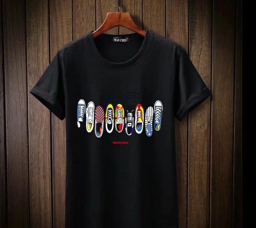 kısa kollu tişört baskı 2020 Yaz Tasarımcı Erkek Tişört Harf Sokak Stili Giyim Tişört Büyük Beden s - 4XL Homme tee top4759