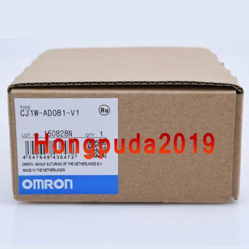 1PC CJ1W-AD081-V1 Omron Analog Input Units PLC Module New In Box