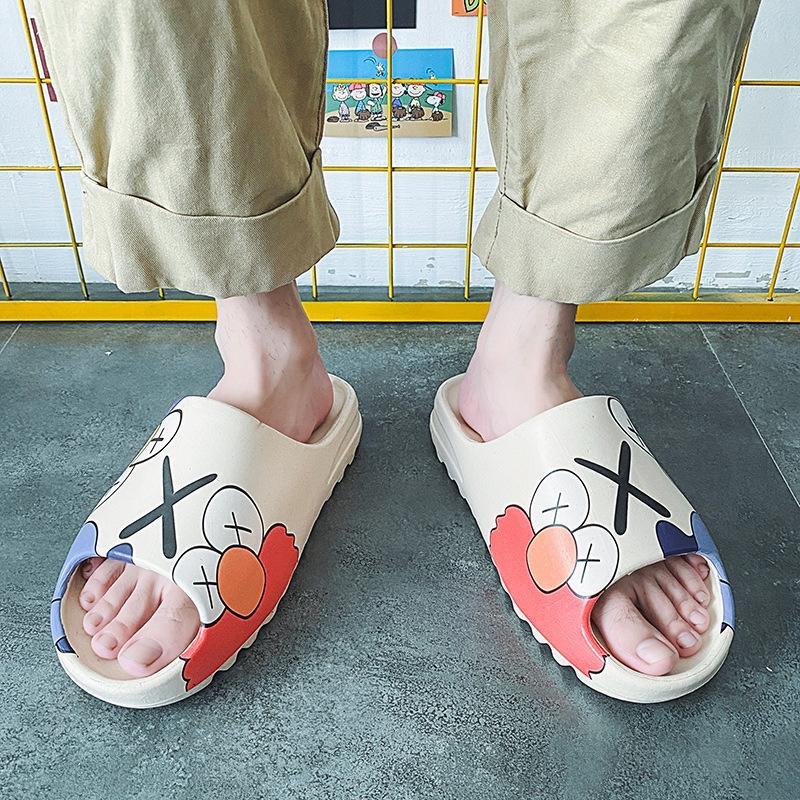 MVImM uomo e pantofole 2020 nuovi pistoni di cocco graffiti sandali ins sandali le stelle stesse scarpe alla moda Sesame Street