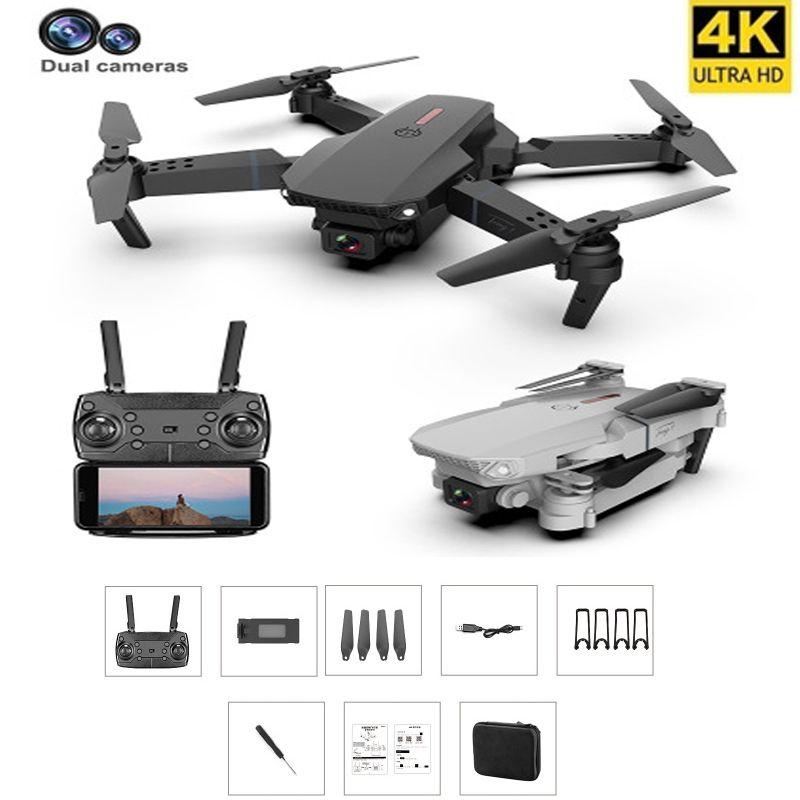 ARC самолеты Дрон с 4K камеры RC вертолетов с двумя дисками камеры Quadcopter Drones HD 4K складной без точечный летающий самолет RC