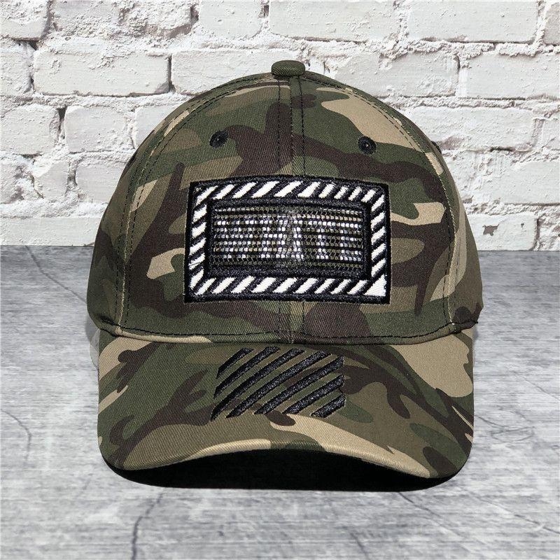 berretto da baseball di vendita calda cappuccio mimetica bianca marchio di moda camuffamento di baseball