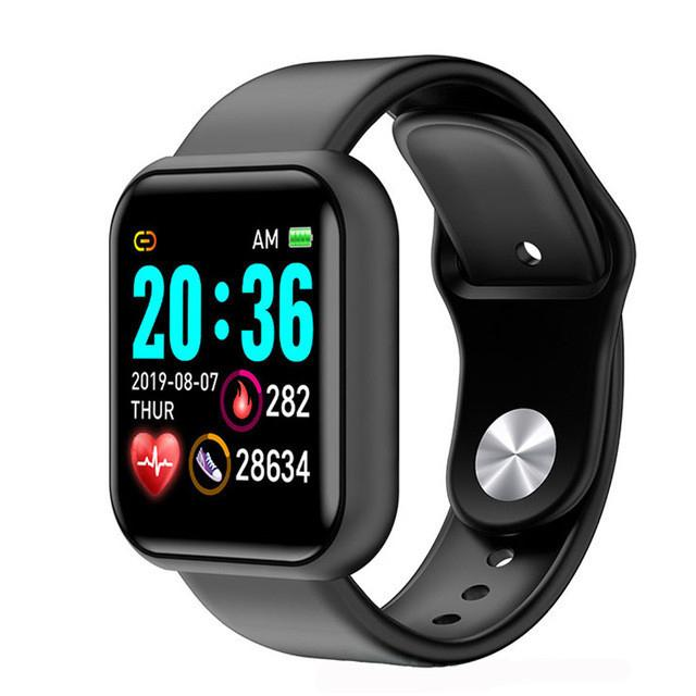 Waterproof Men's and Women's Smart Watch Heart Rate Monitor for Apple iOS Smart Bracelet Sports Watch Direct Charge Without USB Charging Cab