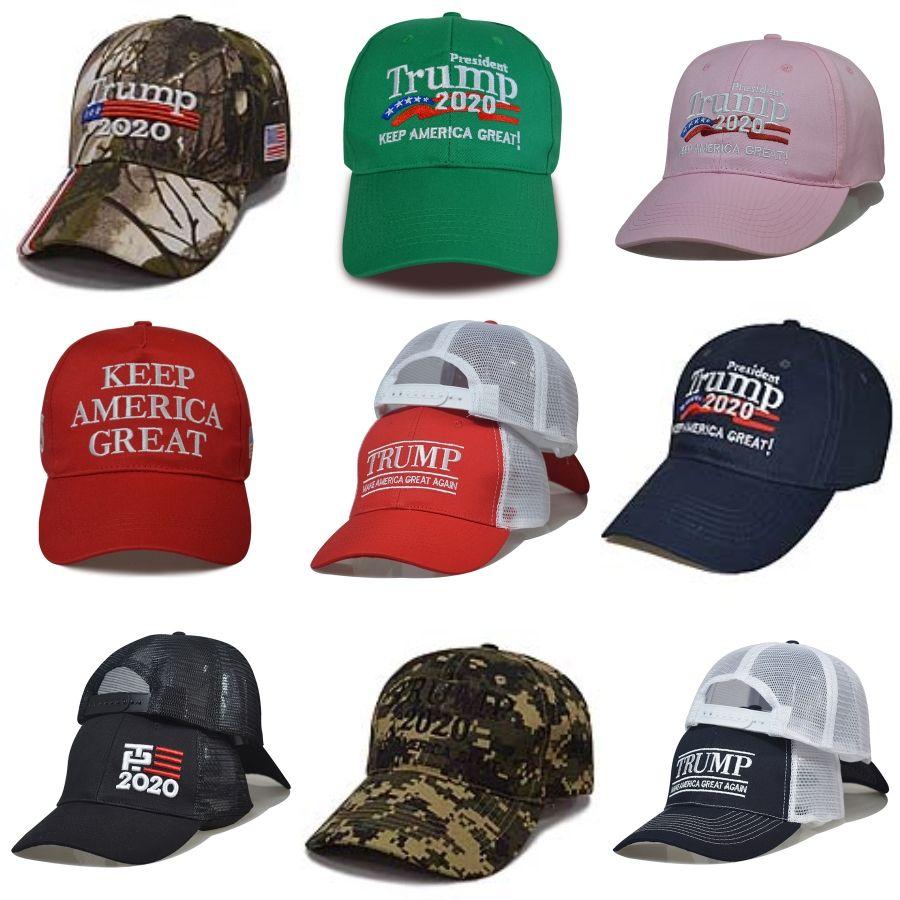 Trump 2020 gorra de béisbol Keep America Primera EE.UU. Presidente Elección Caps Caps bordado Snapback de EE.UU. bandera del balón de GGA3656 # 990