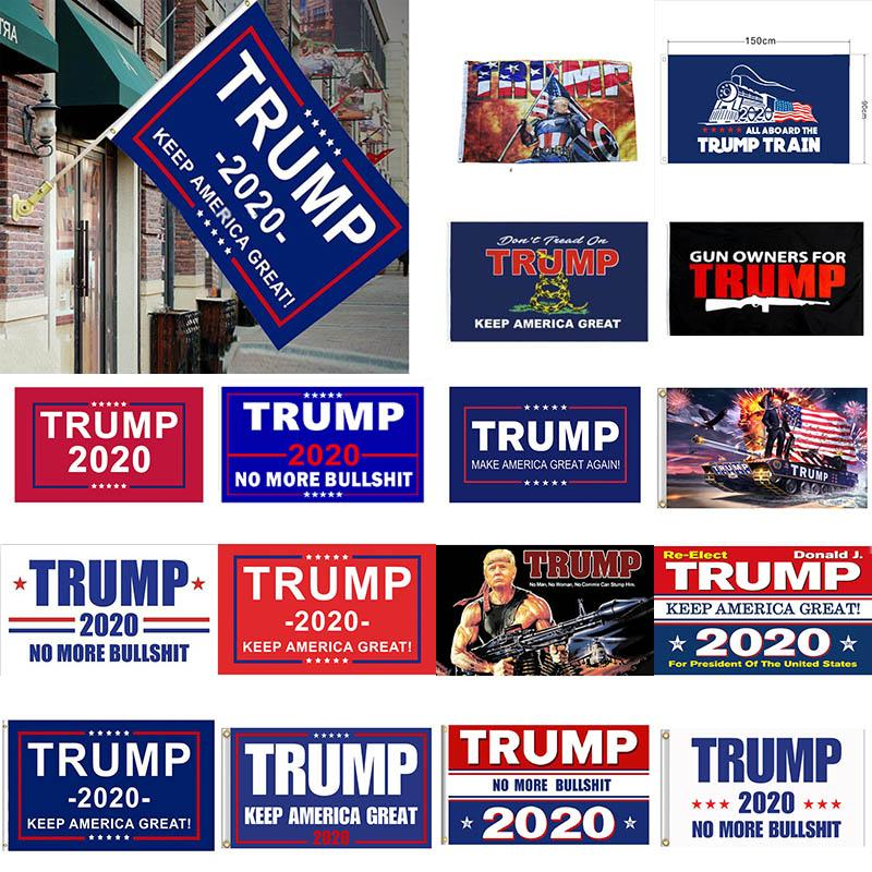 لوازم الرئيس الديكور راية العلم ترامب أمريكا مرة أخرى لUSA دونالد ترامب 2020 راية العلم الانتخابات دونالد أعلام 90 * 150CM حزب XD21168