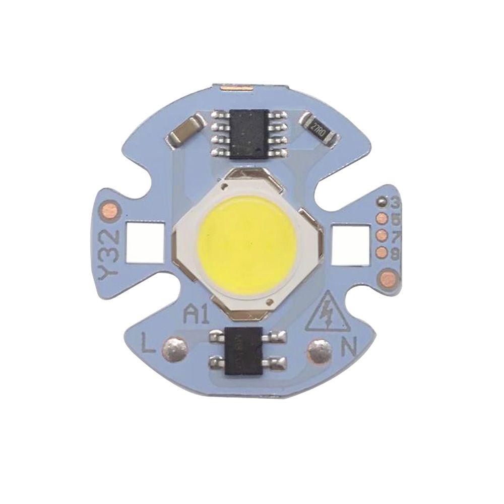 30PCS / الكثير LED COB رقاقة خفيفة 3W 5W 7W 9W AC220V الإدخال الذكية IC سائق يصلح لDIY أضواء trackinglight الباردة أبيض / أبيض دافئ