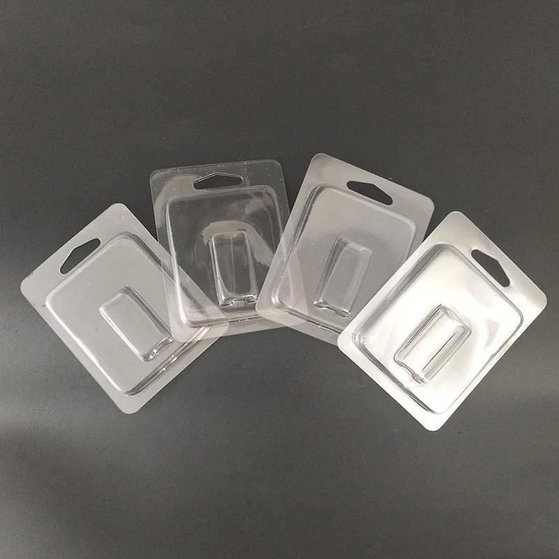 Empaquetado de plástico transparente para vaporizador Pen Coco Starter Kit vacío Vape Pen POD Carrito COCO POD MENOR BLISTER PAQUETE