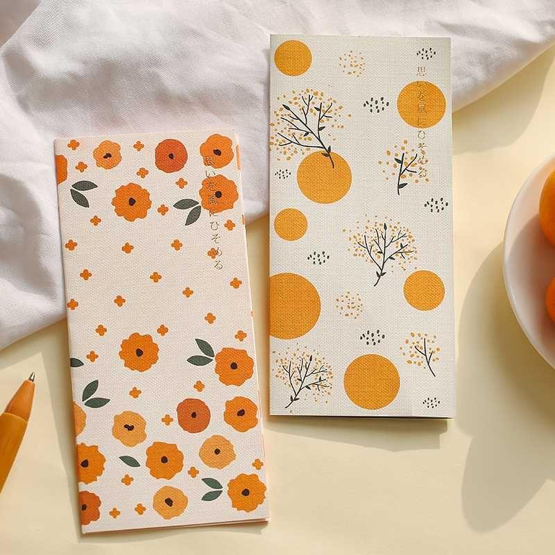 2 envelopes+2 letter paper Set Cute Flower Envelope Writing Paper Gift Stationery Love Letter