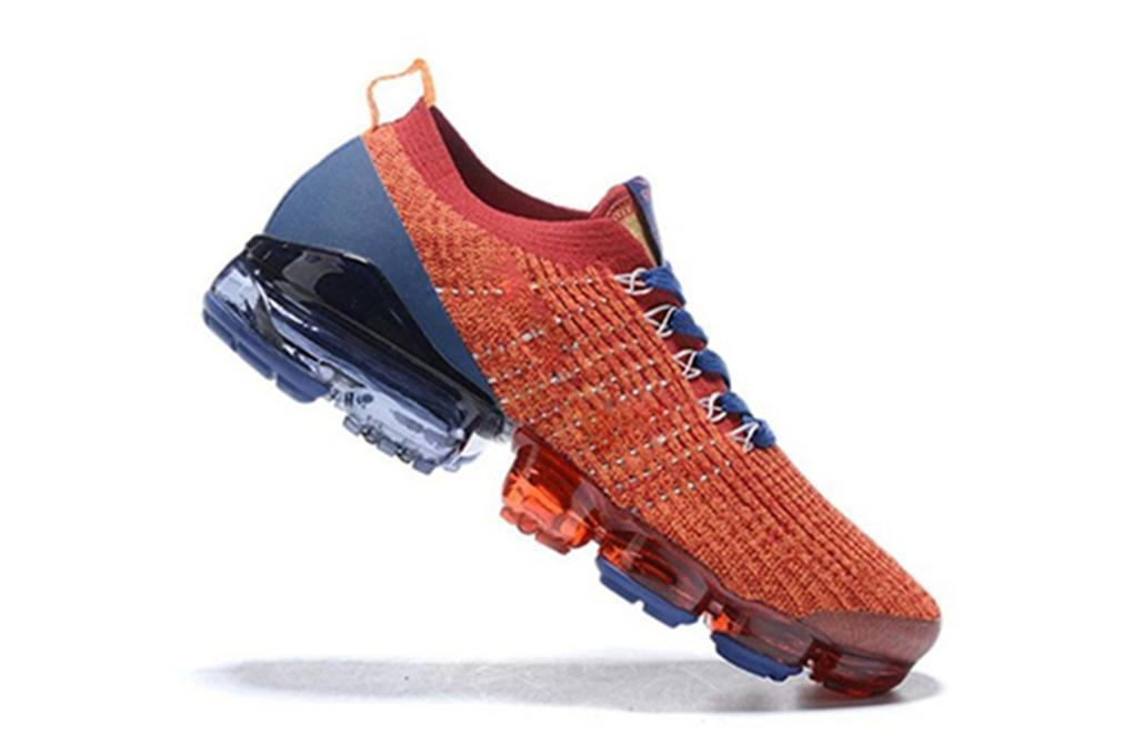 série inovadora de amantes lace-up malha esportes sapatos almofada de ar Lace-up malha sapatos casuais tamanho dos homens: 36-45