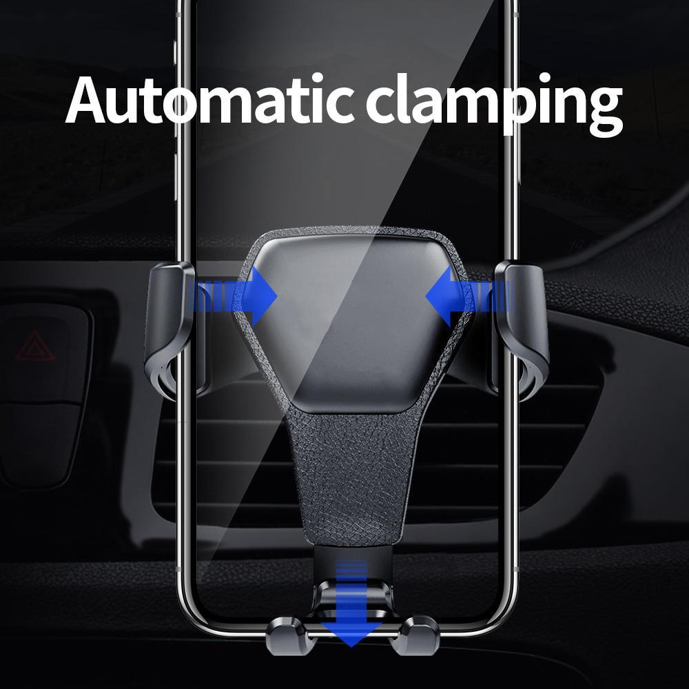 Gravity-Auto-Halter für Telefon in Auto Entlüfter Clip Berg No Magnetic Handy-Halter Handy Ständer Unterstützung für allphone iPhone X