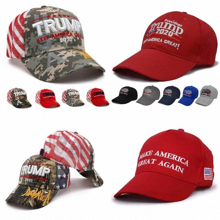 Nueva Donald Trump 2020 gorra de béisbol de Estados Unidos Elección Presidencial Bandera hacer de Estados Unidos volvieron a lavar Gran Sport Party bordado Sombreros DDA338 rWKV #