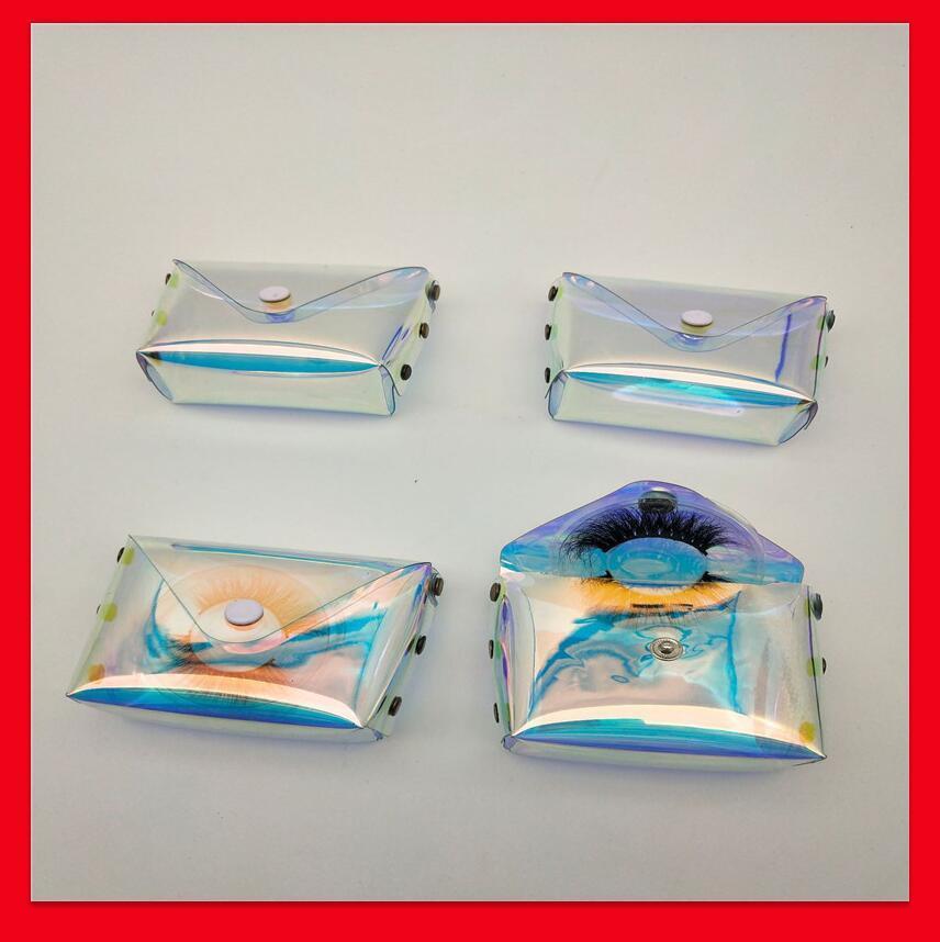 Ciglia finte vuote imballaggio scatole di imballaggio scatola regalo ciglia ciglia ciglia custodie di stoccaggio trucco custodia cosmetica visone ciglia fronte borsa ciglia