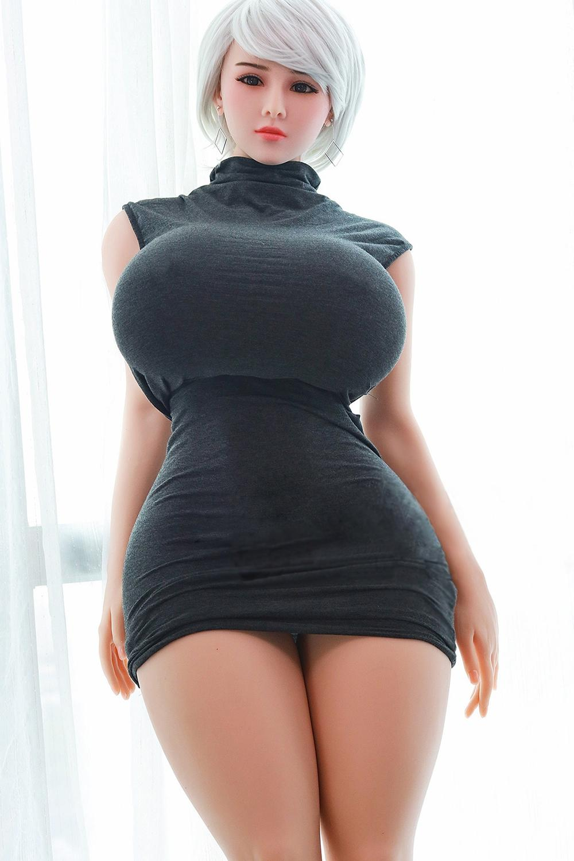 New 159cm Fat Body Super Big Boobs Big Betlocks Poupée Silicone Sex Poupée Pour Homme Adulte Sex Toys 3 ouvertures