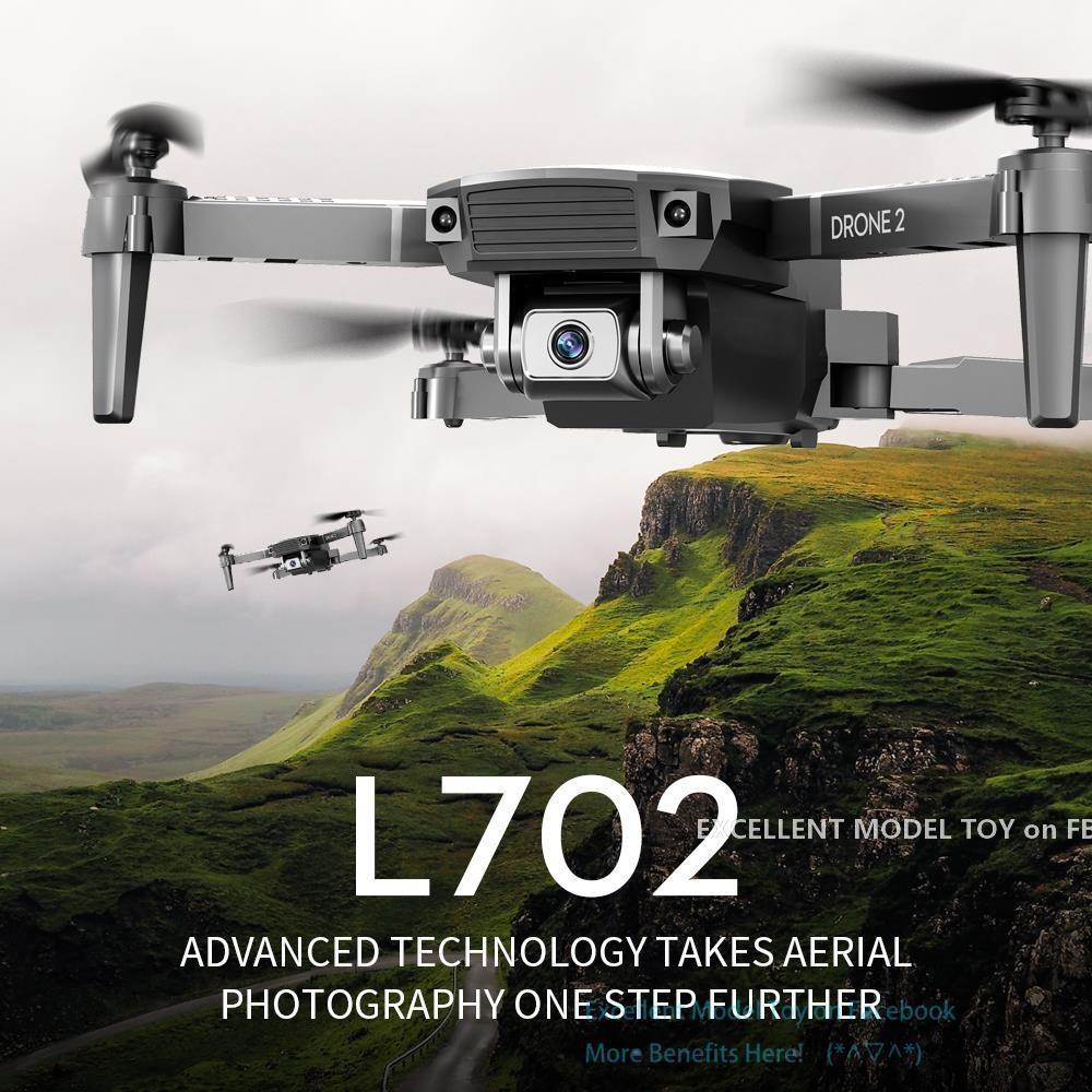 L702 4K Dual Camera FPV Mini Anfänger Drone Kid Spielzeug, Simulatoren, Track-Flug, einstellbare Geschwindigkeit, Höhenhalterung, Geste nehmen Foto, 1800 mA Batterie, 3-1