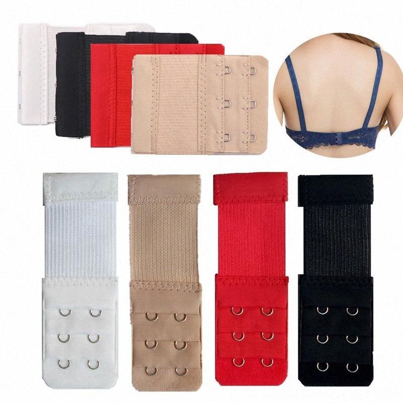 Extender sexy per le donne elastico reggiseno Extension cinghia delle donne Biancheria intima Biancheria intima a gancio regolabile Expander intima Belt Buckle B GC6U #